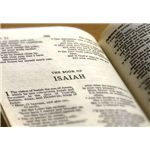 Studying the Bible is part of life in seminary colleges (Image Credit: Wikimedia Commons)