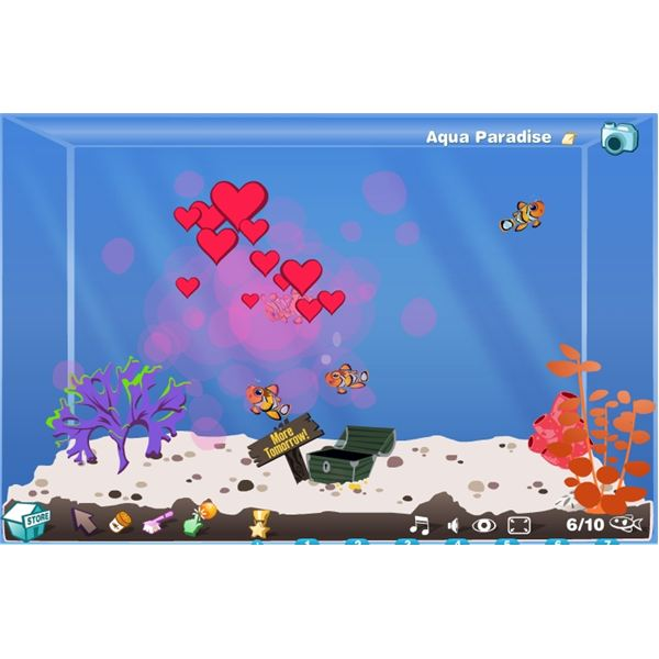 Happy aquarium review best virtual fish tank game on for Wsbtv fish and game
