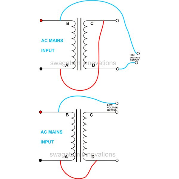 step down transformer wiring diagram   36 wiring diagram