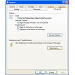 Advanced Options in Windows Live Mail