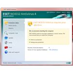 UI of Eset Nod32: Eset vs Avast