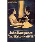 Dr. Jekyll Mr Hyde 1920 Paramount Pictures poster