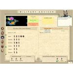 Civlization 3 Military Advisor Screen