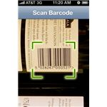 Barcode Scanner Plus iPhone App