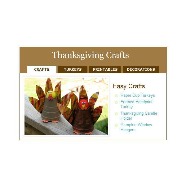 kaboose coloring pages thanksgiving crafts - photo #5