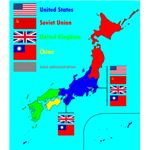 526px-Proposed postwar Japan occupation zones