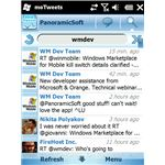 MoTweets screenshot tweet page