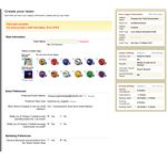 Create Your Team Screen