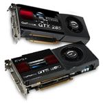 eVGA GeForce GTX 285 and GTS 250 PhysX Video Cards