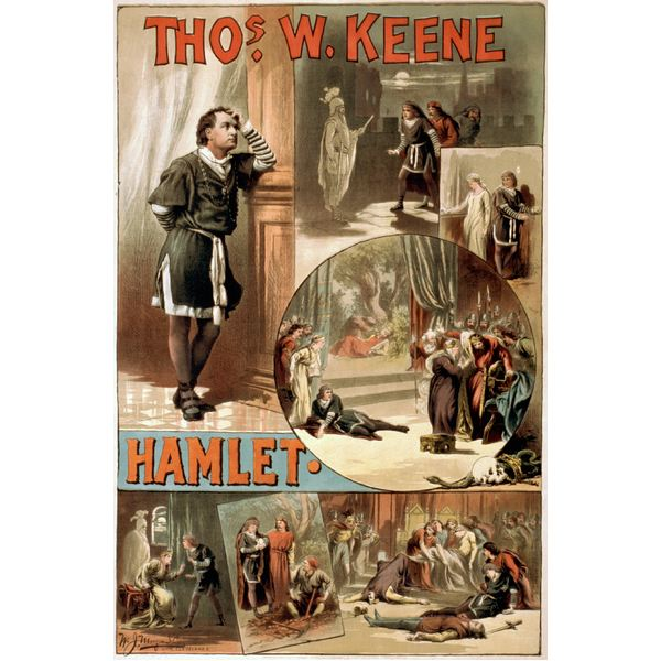 revenge that burns in the eyes of hamlet Read the excerpt from act ii of hamlet  would have made milch the burning eyes of heaven,  that hecuba was determined to take revenge for the death of priam.
