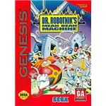 Dr. Robotnik's Mean Bean Machine - Original Genesis Box Art