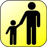 Parent Child Icon Wikimedia Commons