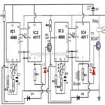Programmable Timer Counter Circuit Diagram, Image
