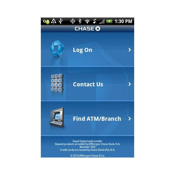 Chase bank consider installing the chase mobile app on your android