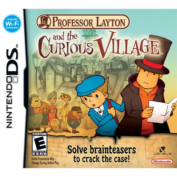 Best nintendo ds puzzle games professor layton and the curious