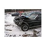Crashed Mustang Wikimedia Commons