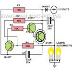 12 Volt Flasher Unit Circuit Image, Indicator Lights Image