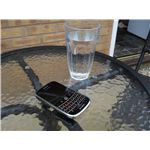 Never leave your BlackBerry outside or near water.