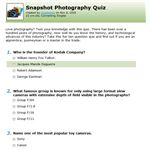Connecting Singles Quizzes Snapshot Quiz
