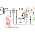 Green Laser Pointer Power Supply Circuit Diagram, Image
