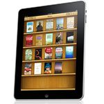 iPad product image- iPad iBooks shelf