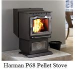 Harmon P-68 Wood Pellet Stove