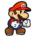 Don't look so mad, Mario. Maybe you'll make it as an unlockable character in the next game.
