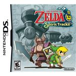 The Legend of Zelda: Spirit Tracks Box Shot