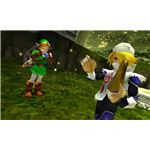 Link and Sheik Outside the Forest Temple