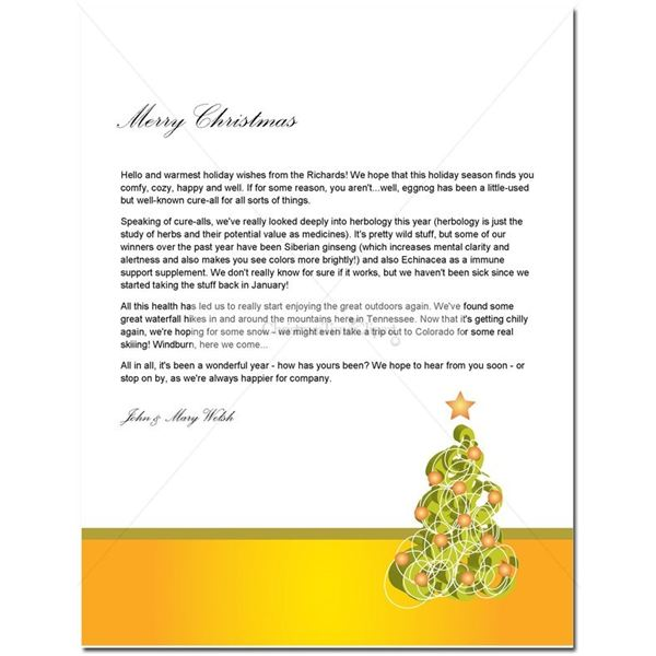 Guide to Finding a Free Christmas Letter Template