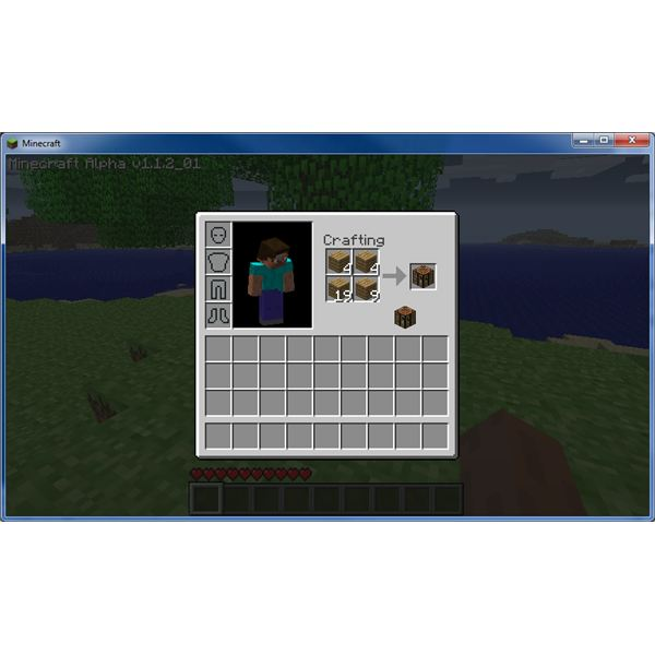 Wood building workbench in minecraft pdf plans for Minecraft carpentry bench