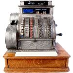 Antique Cash Register by US Government Wikimedia Commons