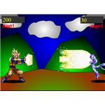 Dragonball Z: Flash Dimension--Free Online Dragonball Z Games