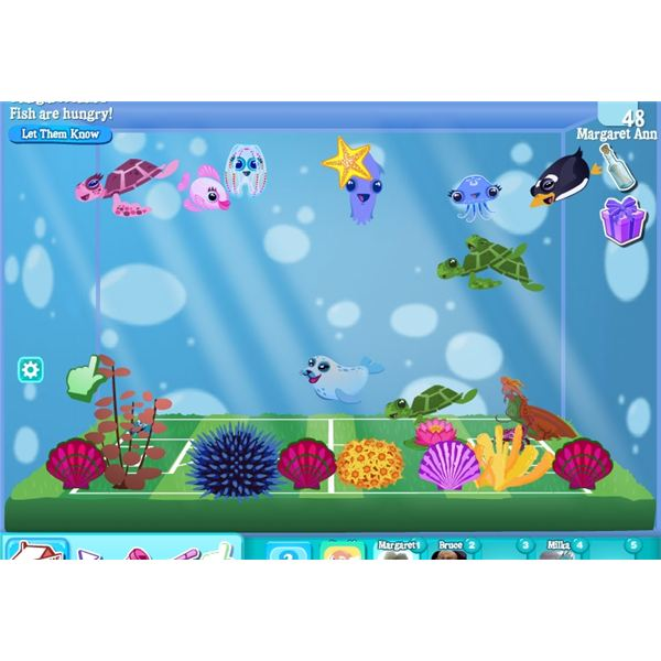 Top online fish aquarium games to play for Fish and game