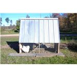 Chicken tractor side