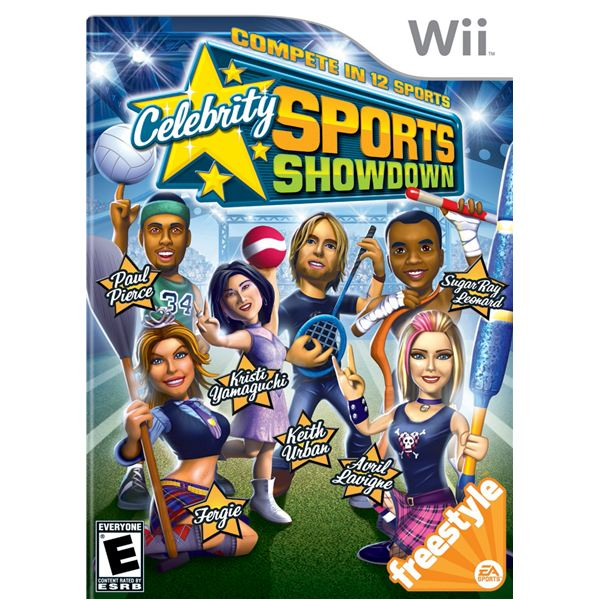 Celebrity wii game