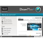 DrawPlus X4 Welcome Screen