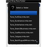 Random Ringtone Tones BlackBerry App