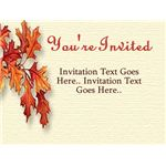Thanksgiving Invitations - Fireworks ecard