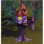 The Sims 3 tree house fun