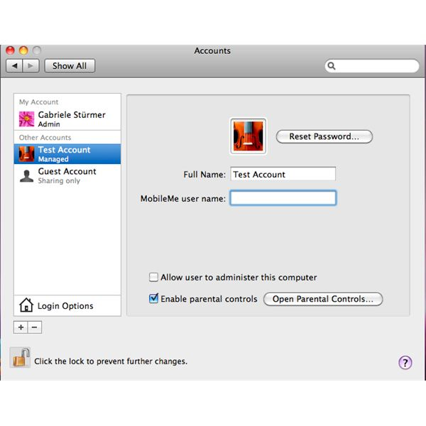 how to stop parental controls on mac