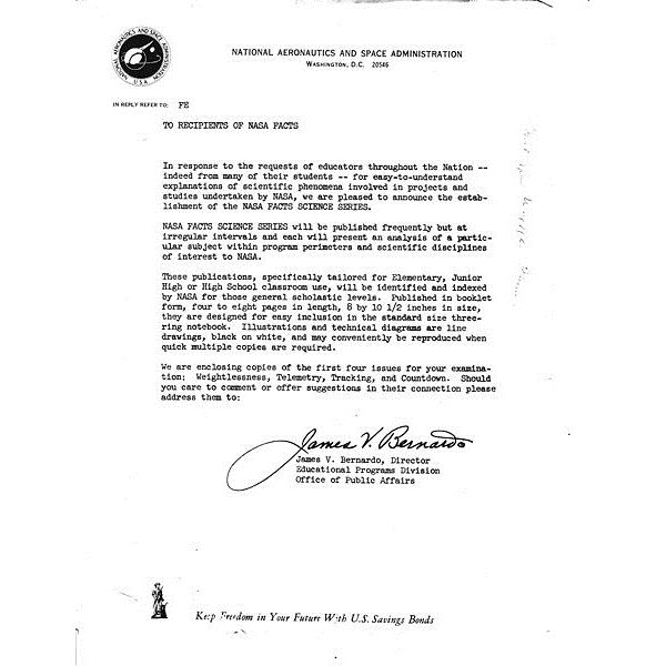 463px nasa facts cover letter james v bernardo - What Is An Enclosure On A Cover Letter