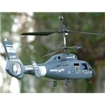 Esky Blue Coast Guard Marine Dauphin RC Helicopter