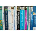 Programming Textbooks (Image Credit: Wikimedia Commons)
