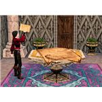 The Sims Medieval Spy proposing edict