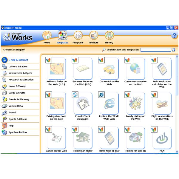 Looking for a microsoft works tutorial microsoft works word processor tutorial pronofoot35fo Gallery