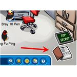 Clubpenguin Cheat - Open the Fish Book to Be a Spy