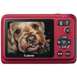 Canon Powershot A800 Red - Back