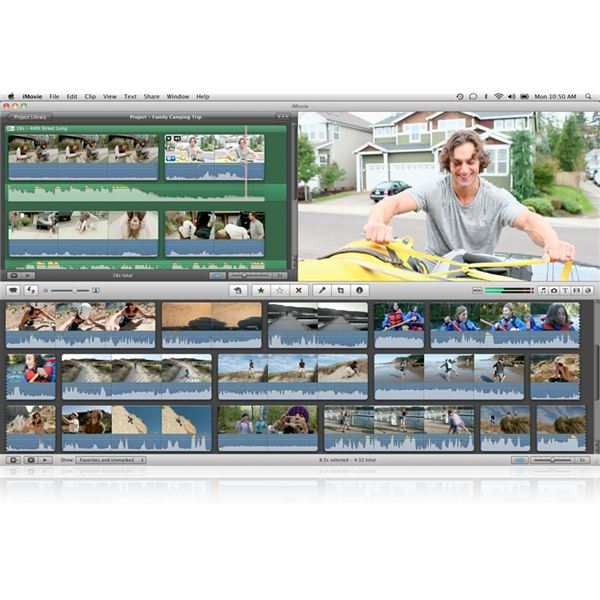 how to put slides in imovie
