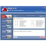Registry scan result using RegCure